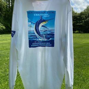 Men's XL Southern Tide long sleeve white shirt
